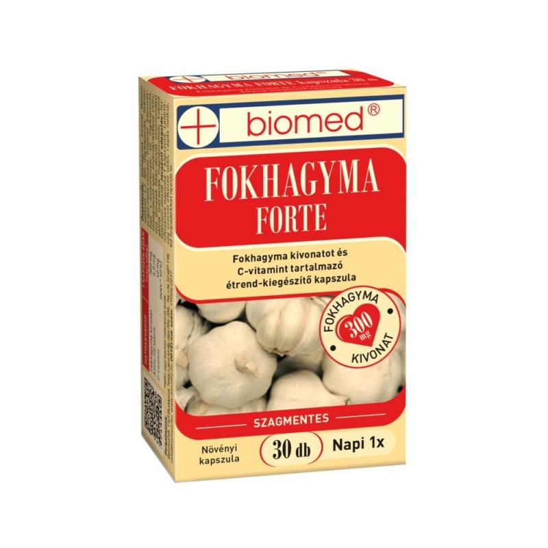 BIOMED FOKHAGYMA FORTE KAPSZULA 30X