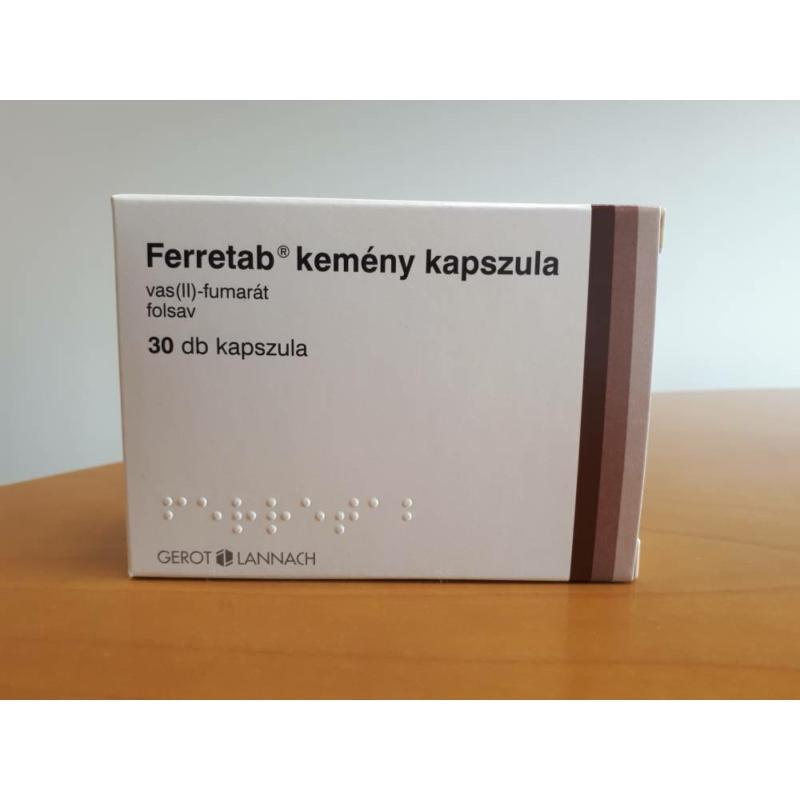 FERRETAB KEMENY KAPSZULA 30X