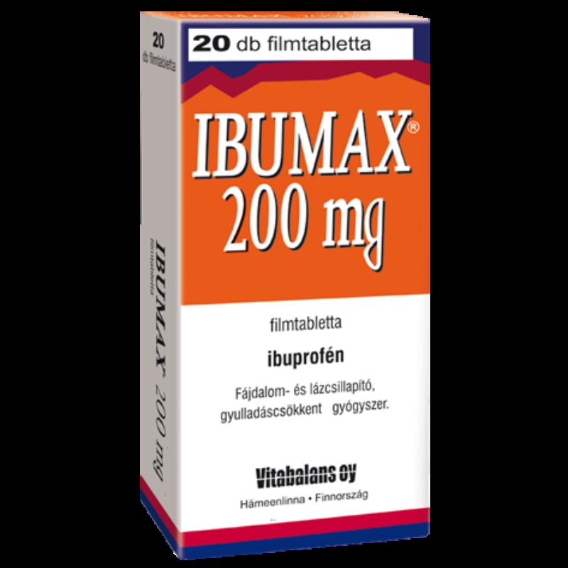 IBUMAX 200MG FILMTABL. 20X