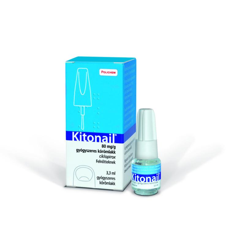 Kitonail 80mg/g gyógyszeres körömlakk 1X3,3 ML