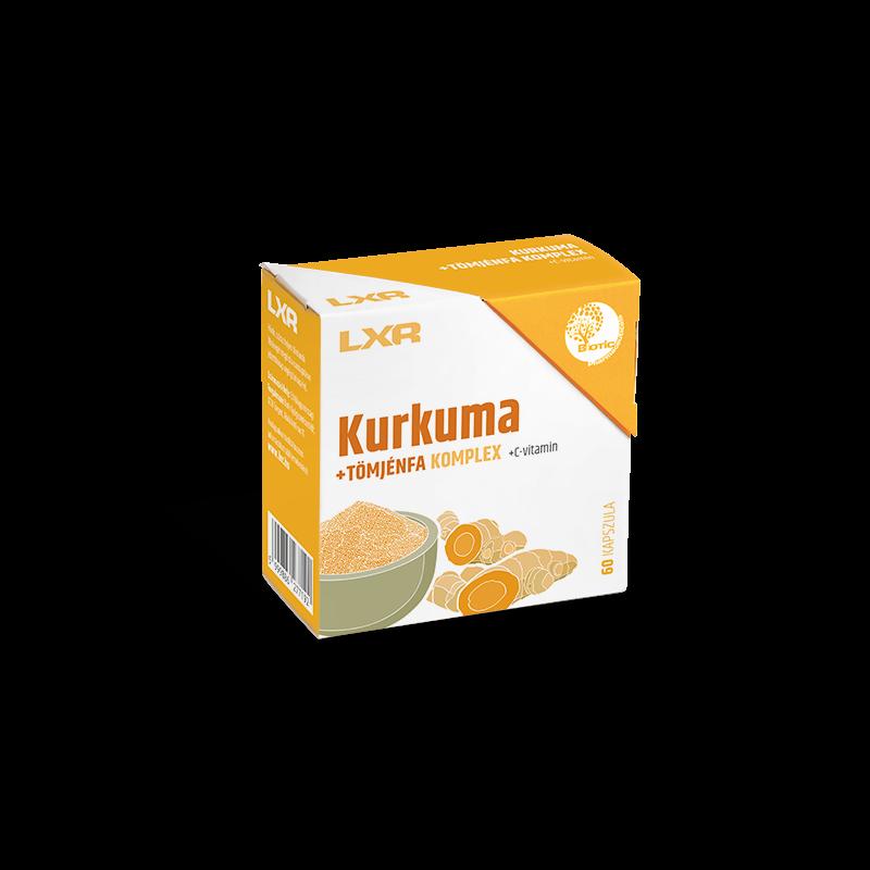 LXR KURKUMA+TOMJENFA KOMPLEX KAPSZ. 60X